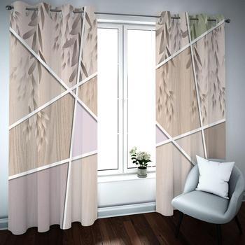 Home Decor Living Room Curtains Custom leaf Window Curtain Bedroom Modern Fashion Curtains for Bathroom Blackout