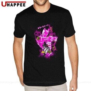 Euro Standard Quality T Shirt JoJo's Bizarre Adventure Tees Shirt Mens Funny Designers Short Sleeves Couple Shirts