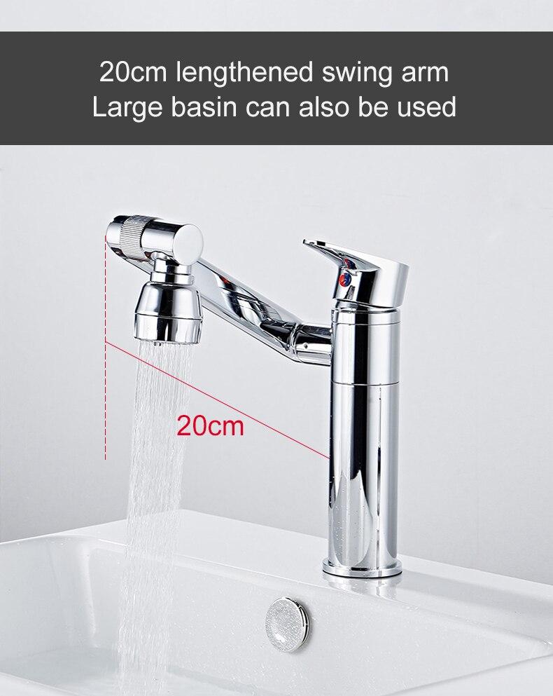 Hdc29fb8646f2414eb9282a4cb65846370 ELLEN Multifunction Bathroom Sink Faucet Hot Cold Water Mixer Crane Antique Bronze Deck Mounted Universal Water Taps EL1326
