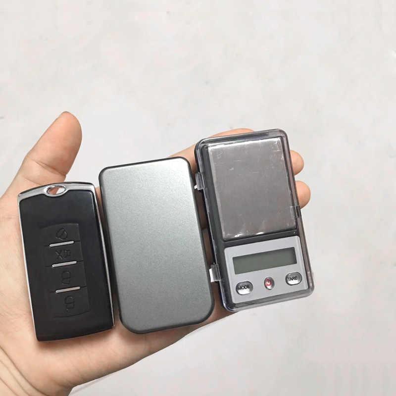 Mini Balance numérique Balance de pesage électronique mini Balance de poche 0.01g 100 500g Balance de laboratoire de médecine Balance clé de voiture gramme Balance de poids