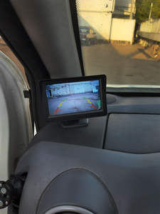 Car-Monitor Mirror Parking-Assistance Camer Tft Lcd Rear-View Ir Universal 5inch Aveo/malibu