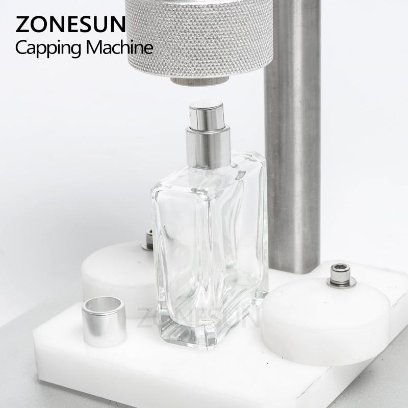 Image 3 - ZONESUN ручной обжимной станок щипцы для духов колпачок для металлического воротника колпачок пресс колпачок машина для обжига спрей щипцы уплотненияПищевые вакуумные герметизаторы    АлиЭкспресс