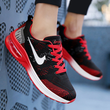 цена на Hot Sneakers Men Running Shoes Breathable Sport Shoes Women Sneakers Athletic Trainers Jogging Shoes zapatos hombre