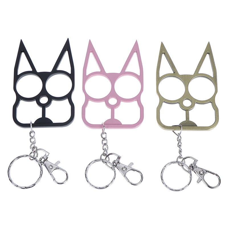 New Multitool Portable Cute Cat Opener Screwdriver Keychain Self-defense Multifunction Outdoor Gadgets Camping Tourism