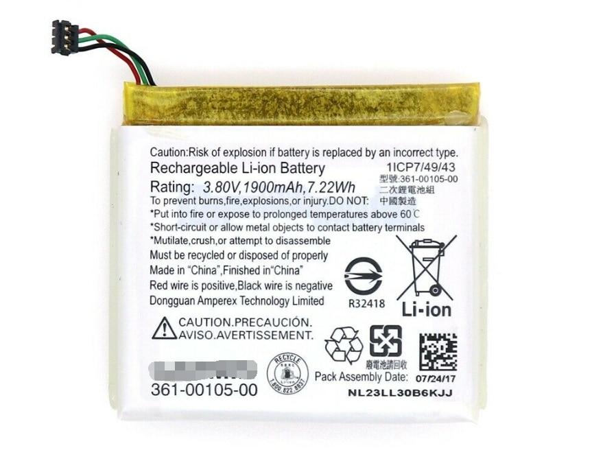 Garmin Edge 1030 Cycling Receiver Rechargeable Li-ion Battery 361-00105-00