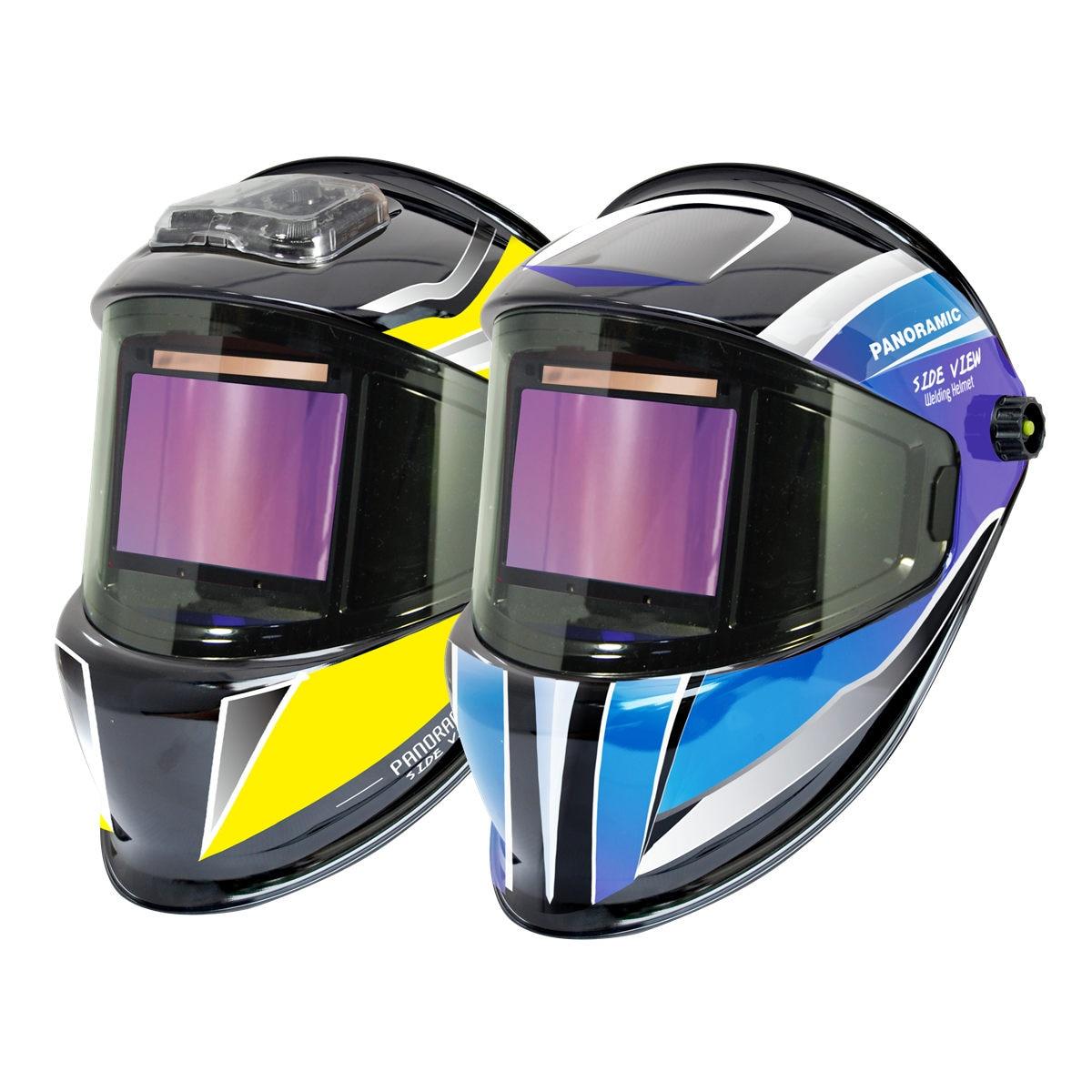 Welding Helmet 3 Side View DIN 5-9 9-13 Optical Rating 1111 4 Sensors True Color EN379 ANSI CSA Auto Darkening Welding Mask