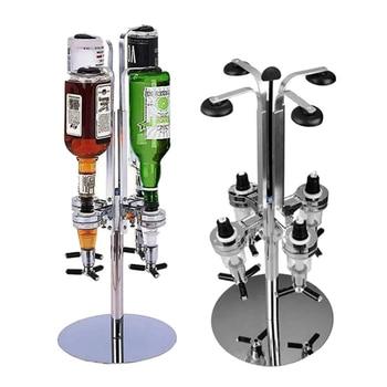 4 Head Professional Desktop Rotary Racks Wine Dispenser KTV Bar Special Wine Beer Coke Fizzy Soda Dispenser Liquor Bar Butler #3