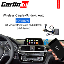 Apple Carplay/ Android Auto/ Mirrorlink/ Control voice/ Modified Module for BMW MiNi/X1/X3/X4/X5/X6 With Wireless NBT System цена 2017