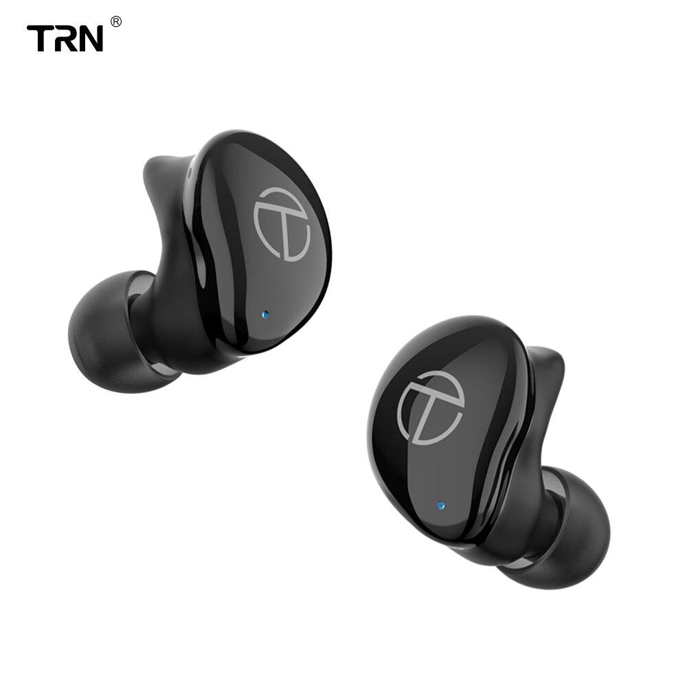 TRN TWS T200 Bluetooth 5.0 TWS sans fil écouteur Bluetooth suppression du bruit écouteurs mains libres dans l'oreille Sport écouteurs jeu