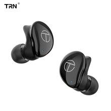 TRN auriculares T200 con Bluetooth, dispositivo con controladores híbridos Aptx/AAC/SBC apt x V5.0, QCC 3020 TRN V80/V90/V20/X6 AK