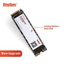 KingSpec-unidad interna de estado sólido para ordenador portátil, NVMe 256GB unidad SSD M2, 512GB, 1TB, 128GB, M.2, 2280, PCIe