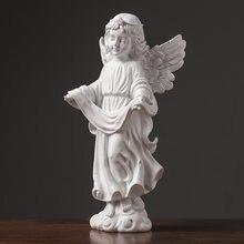 Домашняя скульптура ангела домашний декор винная шкаф украшения