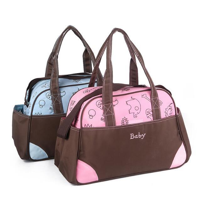 Diaper Bag Europe Fashion Plaid Large Capacity Hand MOTHER'S Bag Multi-functional Mom Shoulder Bag Hand Bag