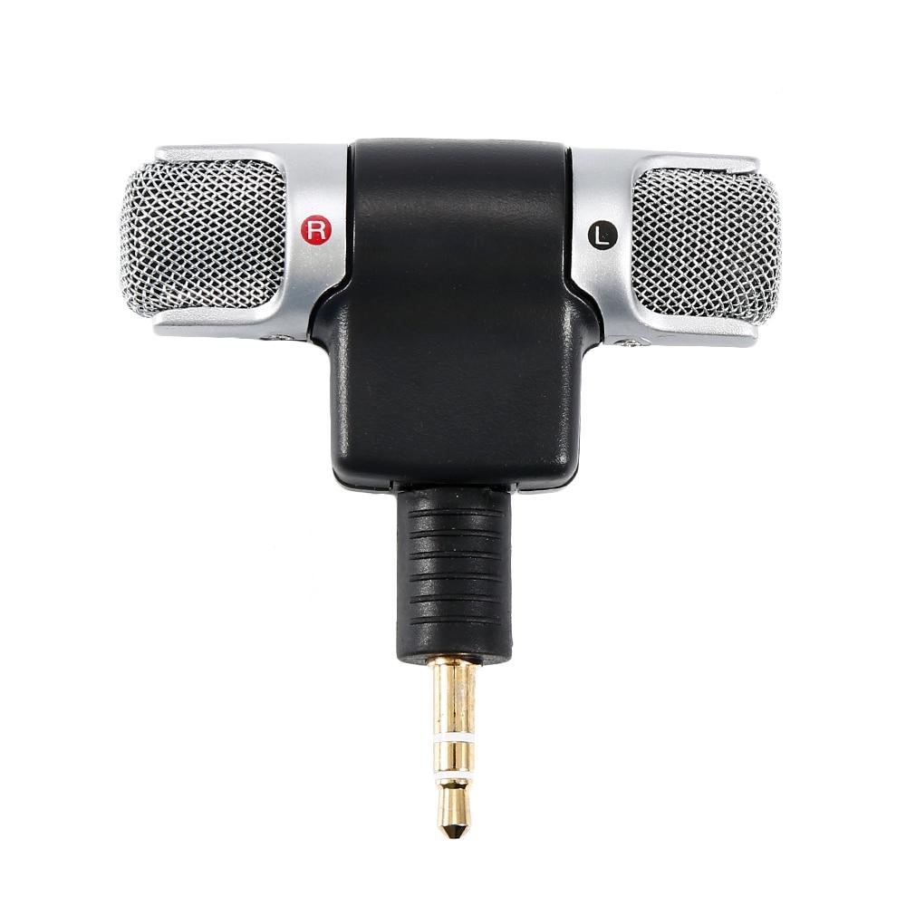 3.5mm Mini Mic Digital Stereo Microphone Professional Handheld External Wireless Microphone Recording For DJI Osmo