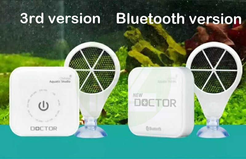 Wersja Bluetooth Chihiros Doctor App Contorl algi usuń elektroniczny hamulec zielony jako Twinstar akwarium Fish Water Pant Tank