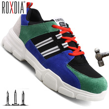 Toe-Cap Work-Sneakers Safety-Shoes Industri Anticollision Steel Casual Women Brand RXM223