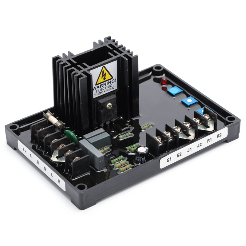 AC 250V 220uF 2.8KW AVR Capacitor Generator Regulator Black