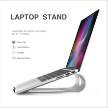 Portable Laptop Stand Aluminum Alloy Computer Holder Cooling Base For IPad Macbook Air / Pro Metal Bracket