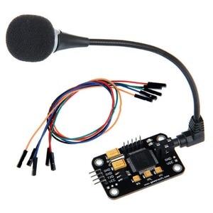 Image 3 - שליטה עמיד זיהוי קול מודול אוניברסלי מגשר חוט שחור דיבור עם מיקרופון כלים גבוהה רגישות לrduino