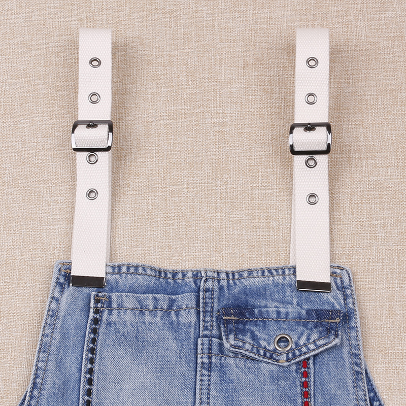 Cowboy Suspender Pants Of Suspender Strap Strap Canvas Strong Not Bad Pin Buckle Hole Regulation Suspender Strap Skirt Replaceme