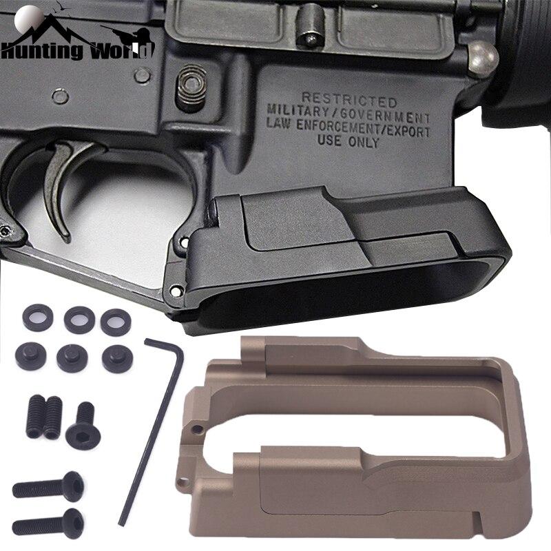 Porte-revues magnétique adaptatif en aluminium CNC tactique pour la chasse Airsoft GBB M4 AR-15 accessoires de fusil