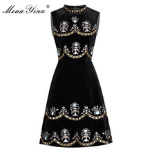 MoaaYina été robe pour femme perles diamant broderie robe de bal robe Vintage