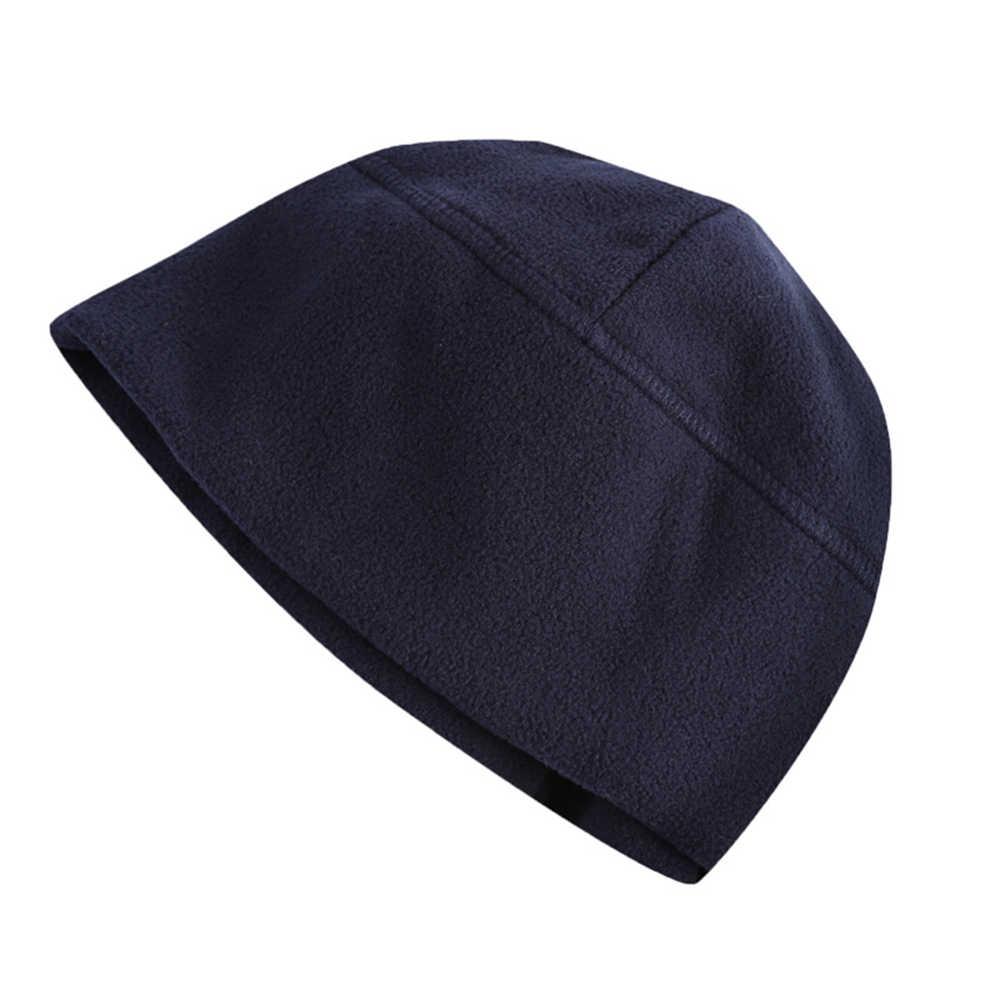 الشتاء في الهواء الطلق تكتيكات الموضة بلون قبعة القطبية ابتزاز قبعات الرجال النساء يندبروف الدافئة التنزه تسلق الجبال قبعة