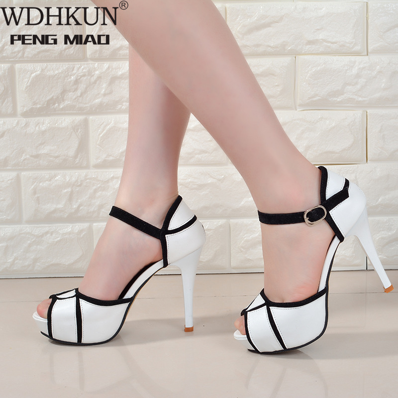 Summer Shoes Women High Heels Sexy Ladies Super High Heel Rome Shoes Brand Night Club Women Pumps Ladies Party Shoes