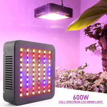 NEW LED Grow Light 600W Phyto Lamps Full Spectrum Dual Chip Leds For Indoor Seedling Tent Greenhouse Flower Fitolamp Plant Lamp