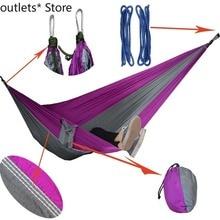 Outdoor Hammock Idyllic Swing Single Double Leisure Camping Hammock Indoor Swing Kids Swing 270*140cm