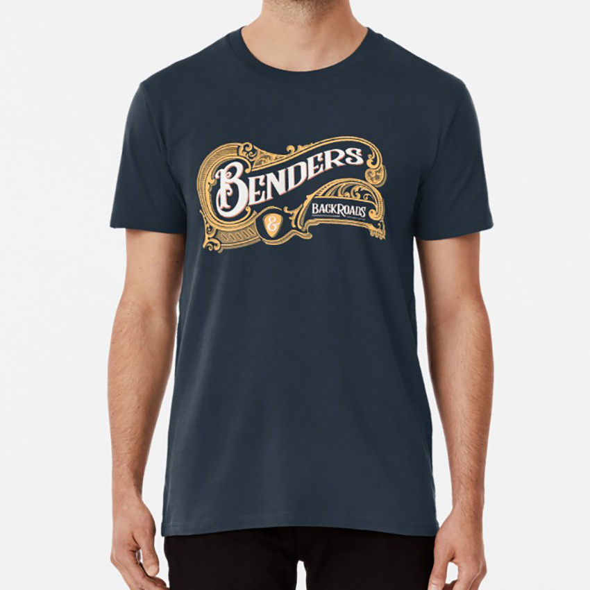 Benders& Backroads : Hilltop Version T Shirt Toddimming Todd Imming Highland Retro Collection Highland <font><b>Illinois</b></font> Tee Shirt image