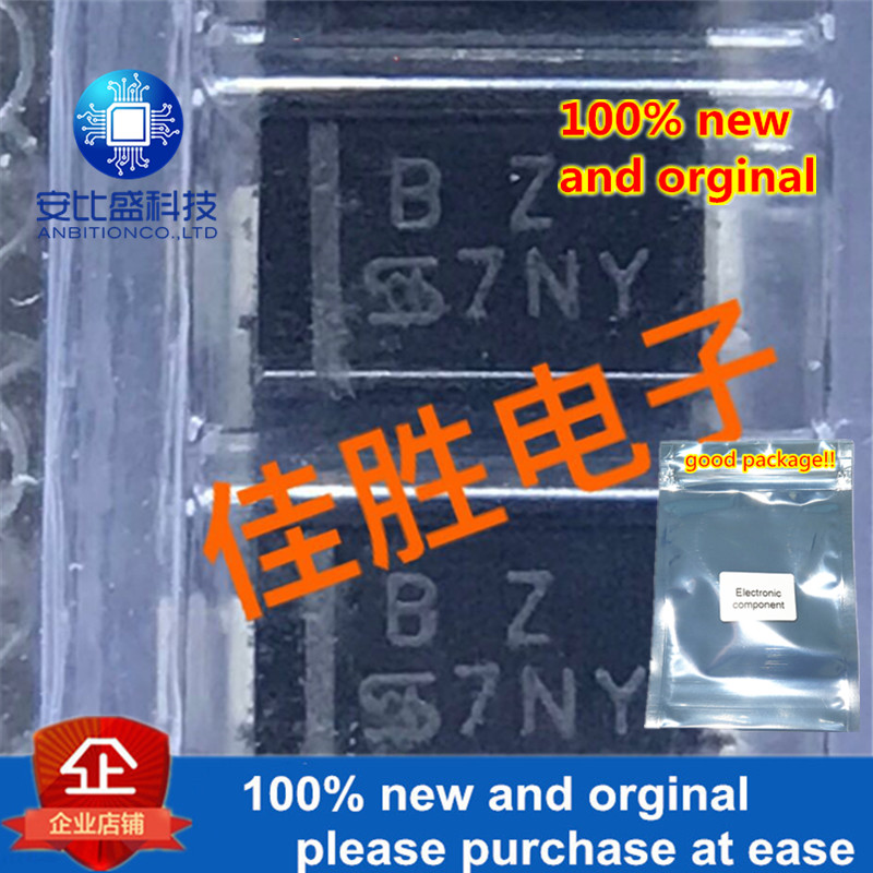 50pcs 100% New And Orginal SMAJ24A 24v One-way TVS Protecting Tube DO214AC Silk-screen BZ In Stock