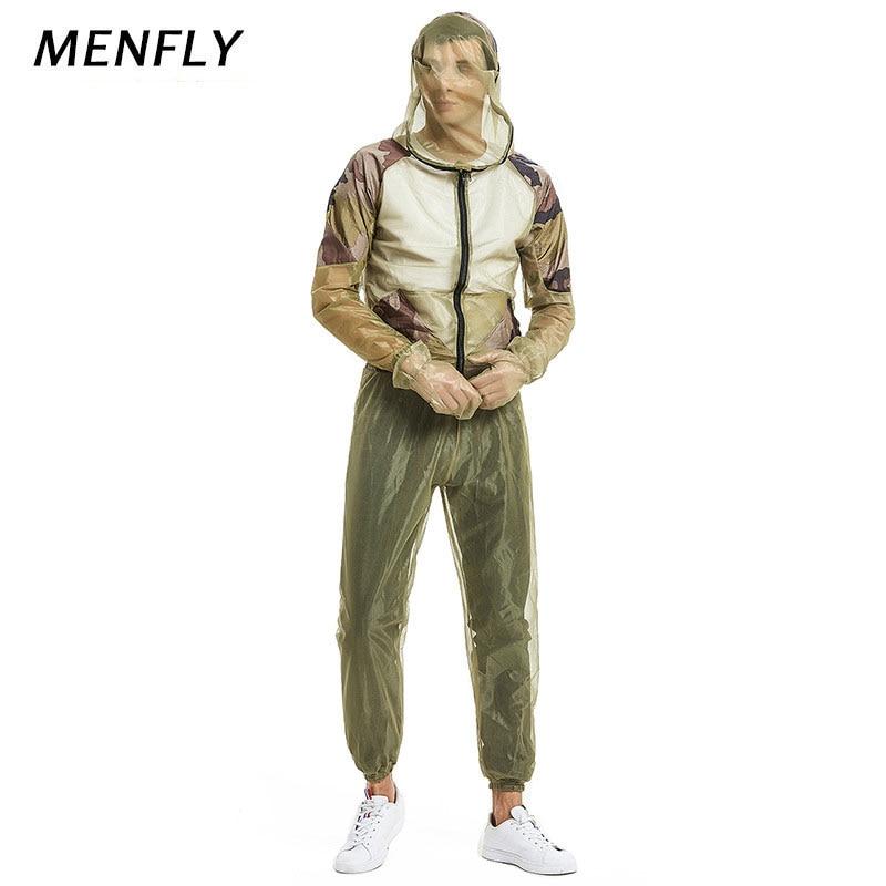 Купить menfly сетчатый костюм с защитой от пчелы для активного отдыха