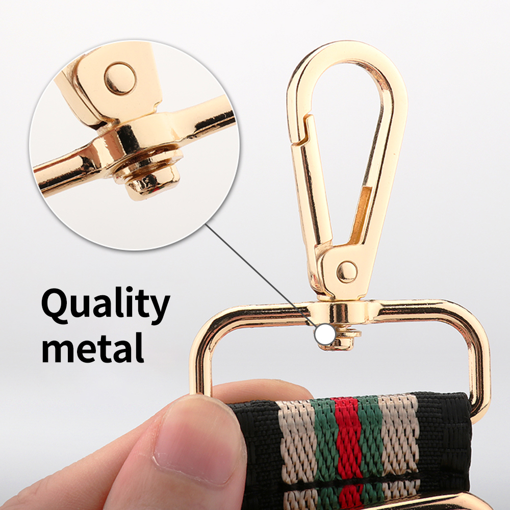 Rainbow Nylon Adjustable Length Belt Purse Belt Decorative Accessories For Lady Wide Shoulder Handbag Straps Replacement Belts