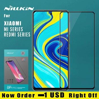 Nillkin for Xiaomi Redmi Note 9S 9 Pro Max 8T 8 7 Pro K30 Mi 9 9T Pro SE Lite A3 Tempered Glass 2.5D Full Cover Screen Protector
