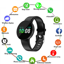 Smart Sport Watch for Women Men Kids Portable Device Fitness Tracker Watches Bluetooth iPhone Xiaomi Android Phone