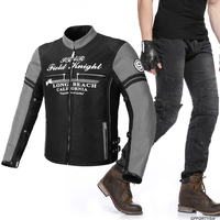 Summer Breathable Mesh Riding Suit Motorcycle Jacket Pants Motocross Pants Racing Riding Jacket Suits Motorcycle Jeans Pants Men