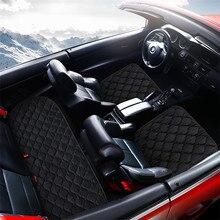 Sinjayer 3 pièces/ensemble universel housses de siège de voiture sièges coussin tapis pour Alfa Romeo Stelvio Giulia Dodge JUCV Fait Bravo freemont