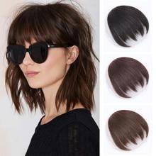 Bangs Hair wig Piece Irregularity bangs 100% Human Hair Clip In Hair Bangs Clip In Hair Extensions natural wig Non-Remy Hair