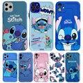 Disney Cartoon Lilo und Stitch IPhone 11 Fall Abdeckung weiche TPU 3D Druck Figur Spielzeug für Mädchen Jungen