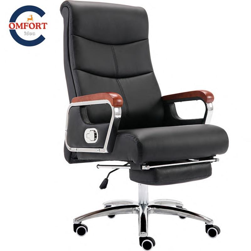 кресло руководителя стул с подставкой для ног современная стульяраз ворот на 360° с подъемом может лежать