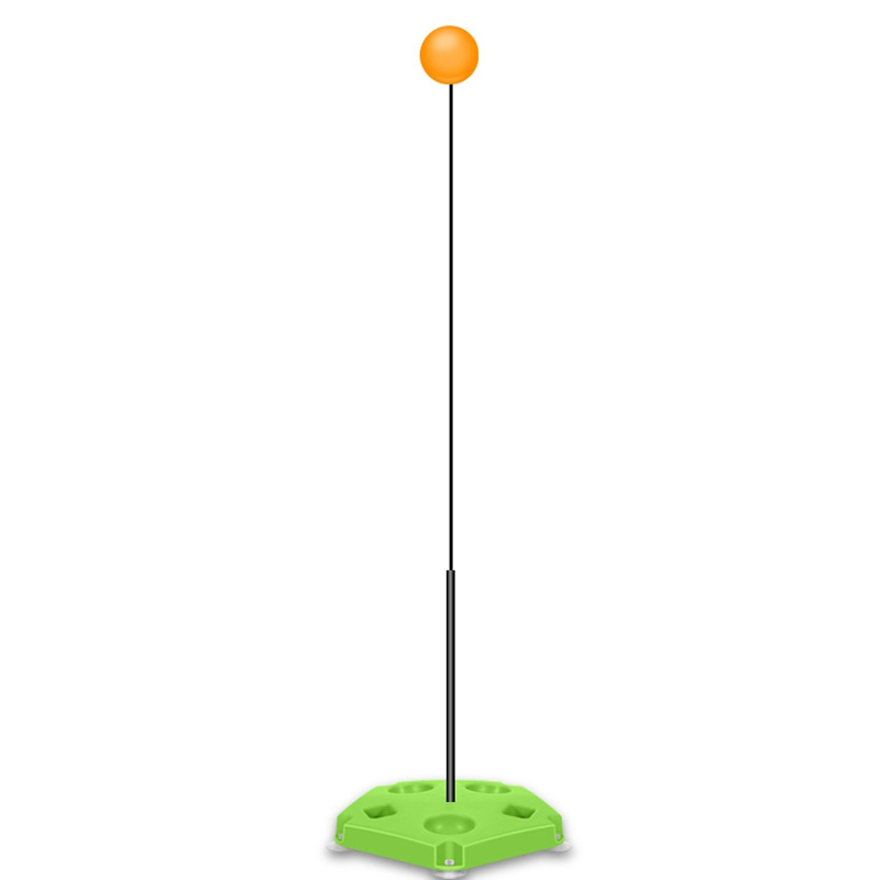 Table Tennis Trainer Children's Elastic Soft Shaft Self-Training Artifact Single Home Indoor Racket
