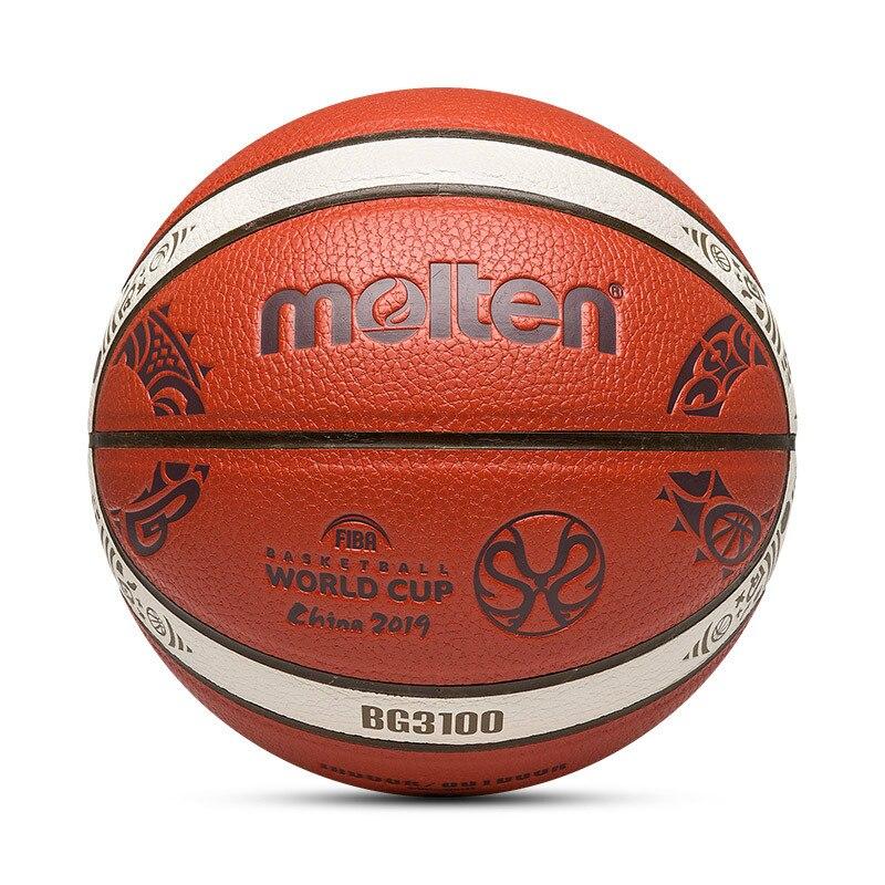 2018 New Arrive Outdoor Indoor Size 7/6/5  PU Leather Basketball Ball Training Basket Ball Basketball Net +Ball Needle Basketbol 1