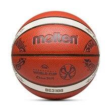 Pelota de baloncesto de cuero de PU Tamaño 7/2018 para exterior, nueva llegada, pelota de entrenamiento para baloncesto, Red de baloncesto + aguja de pelota, baloncesto, 6/5