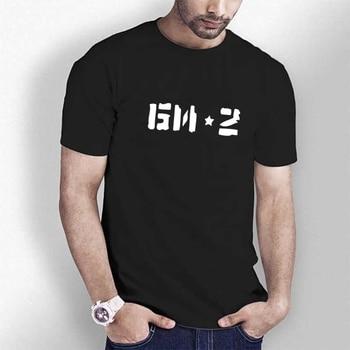 HT0165# Group Bi-2 t shirt men tshirt men's summer Tshirt fashion cool O neck short sleeve - discount item  35% OFF Tops & Tees