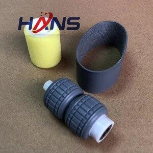Image 4 - new pick up roller set compatible for Kyocera KM3500/4500i/5500i/4501/5501/3501 copier ADF pickup roller laser part 3pc/set 1set