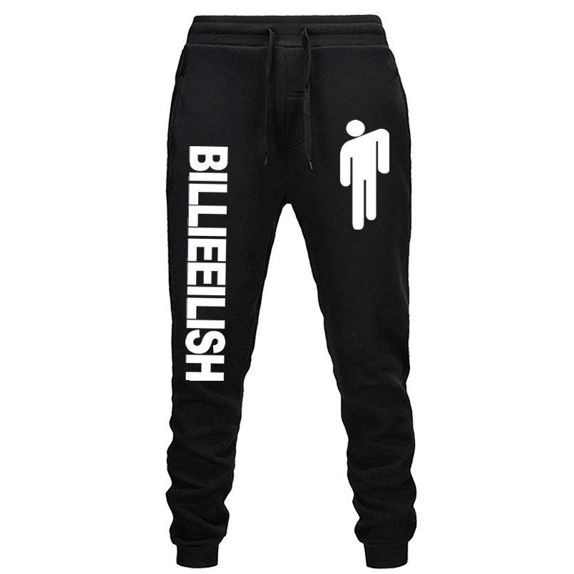 Trousers Sweatpants Jogger Billie Eilish Trendy Fashion Fitness Slim Casual Printed Hot-Sale