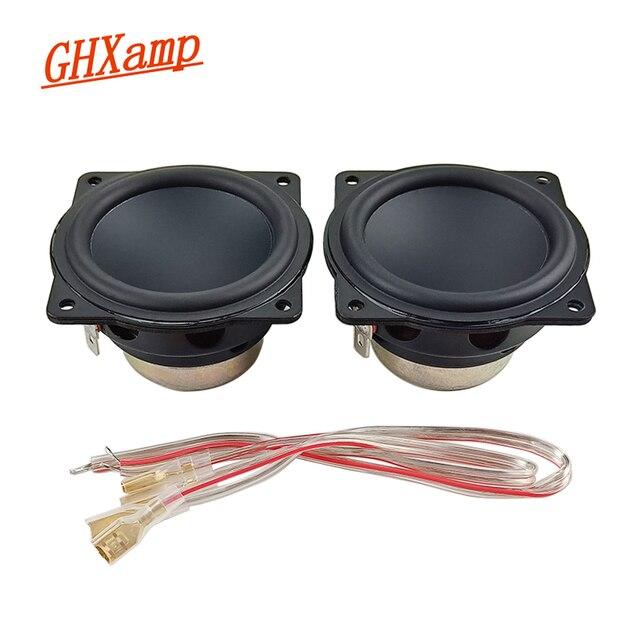 GHXAMP 2 Inch Speaker 4OHM Full Range Units Woofer Portable Bluetooth Speaker Waterproof Diy Home Theatre Neodymium 10W 20W 2PCS