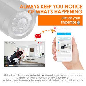 Image 2 - ZOSI 8CH Home Security กล้องระบบ 1080N HDMI TVI DVR 8PCS 720P/1.0MP กล้องวงจรปิดวิดีโอ surveillance DVR Kit