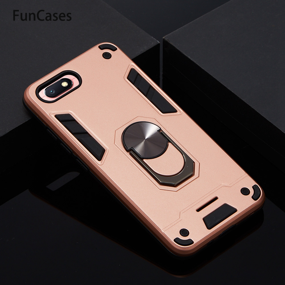 Magnetic Car Phone Bag Cases For Xiaomi armor Redmi 6A Lovely Cases Estuche sFor Cell Xiaomi